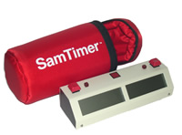 The case perfect for your SamTimer TM clock (clock sold separately.