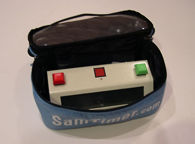 Protects your Mini SamTimer TM or Pocket SamTimer TM.